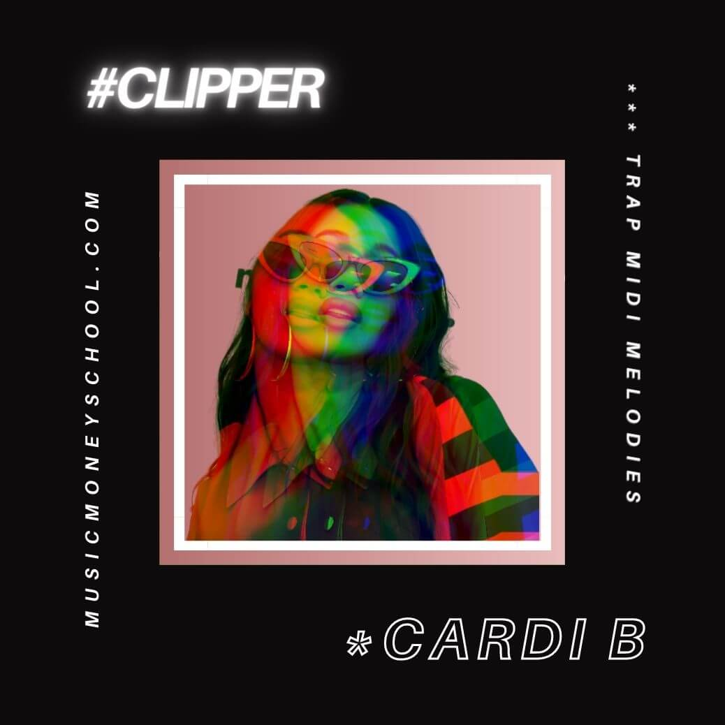 "Trap MIDI Melodies Free Download - Cardi B ""Up"" #13"